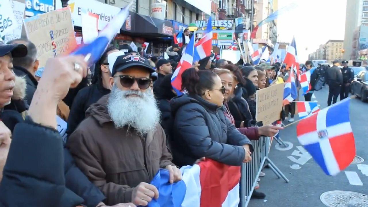 Los dominicanos levanta su voz en el Alto Manhattan