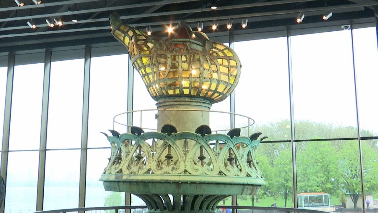 Inauguran un nuevo museo en la Estatua de la Libertad