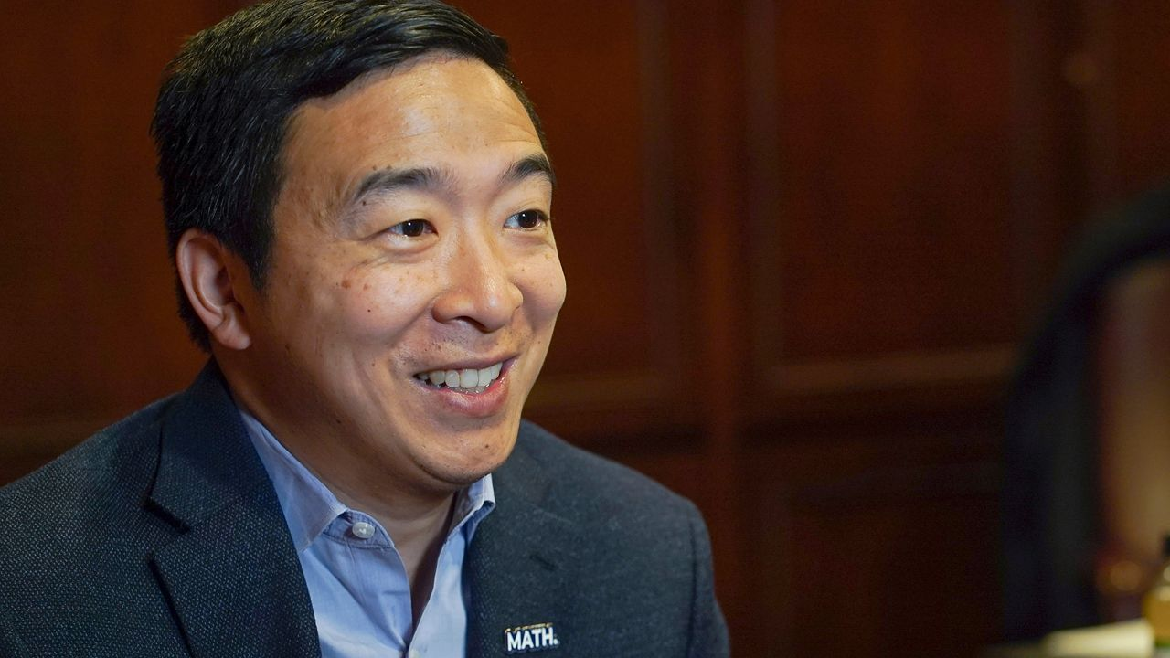 Former Democratic Presidential Candidate Andrew Yang Files Paperwork to Run for New York City Mayor