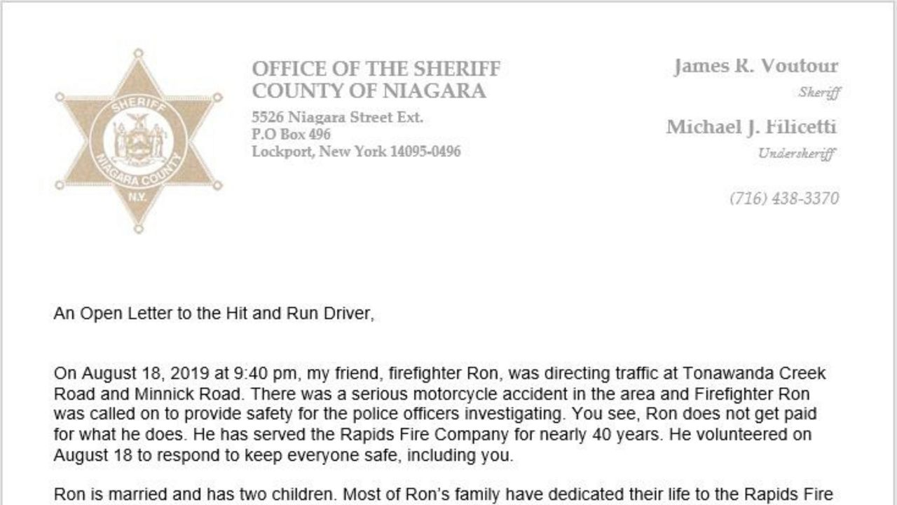 After Hit-and-Run, Sheriff Writes Heartfelt Letter for Injured Friend