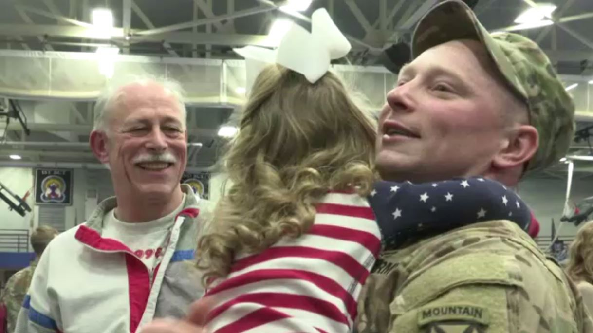 Fort Drum soldiers welcomed home