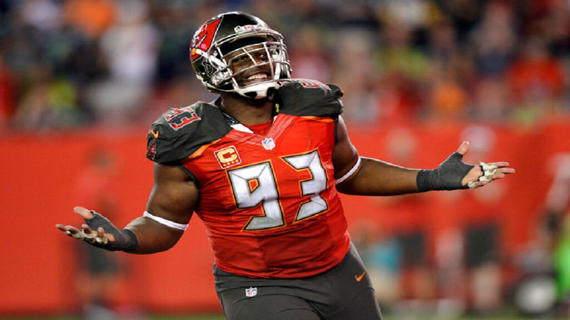 new style 61aec 6c4a5 McCoy won't allow himself to get overhyped against Bucs