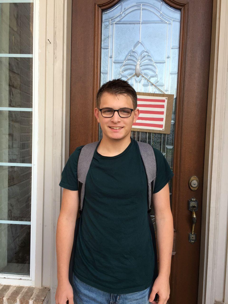 Graham is starting 9th grade.