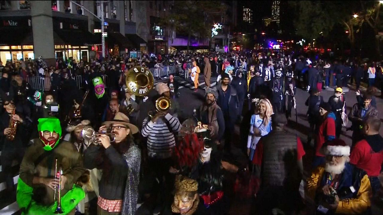 Beautiful NYC Village Halloween Parade 2018