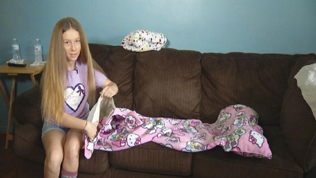 HERO: Teen Doesn't Let Epilepsy Stop Her From Helping Others