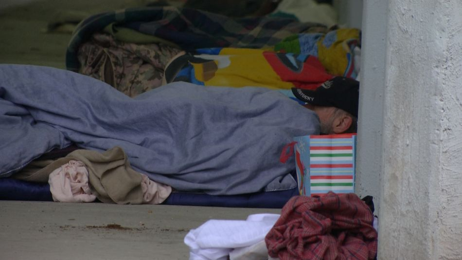 6c14286c1a FILE photo of a homeless man sleeping on the ground. (Spectrum News)