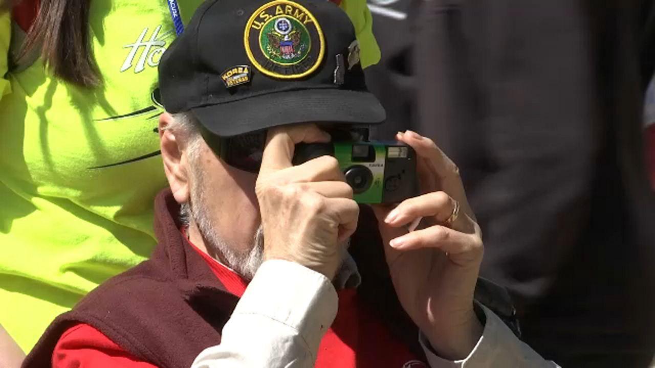 CNY Veterans Share War Stories on Honor Flight
