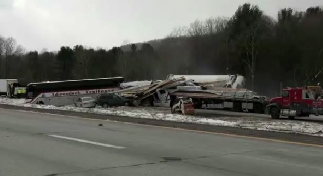 State Police Give Details of I-88 Pile-Up