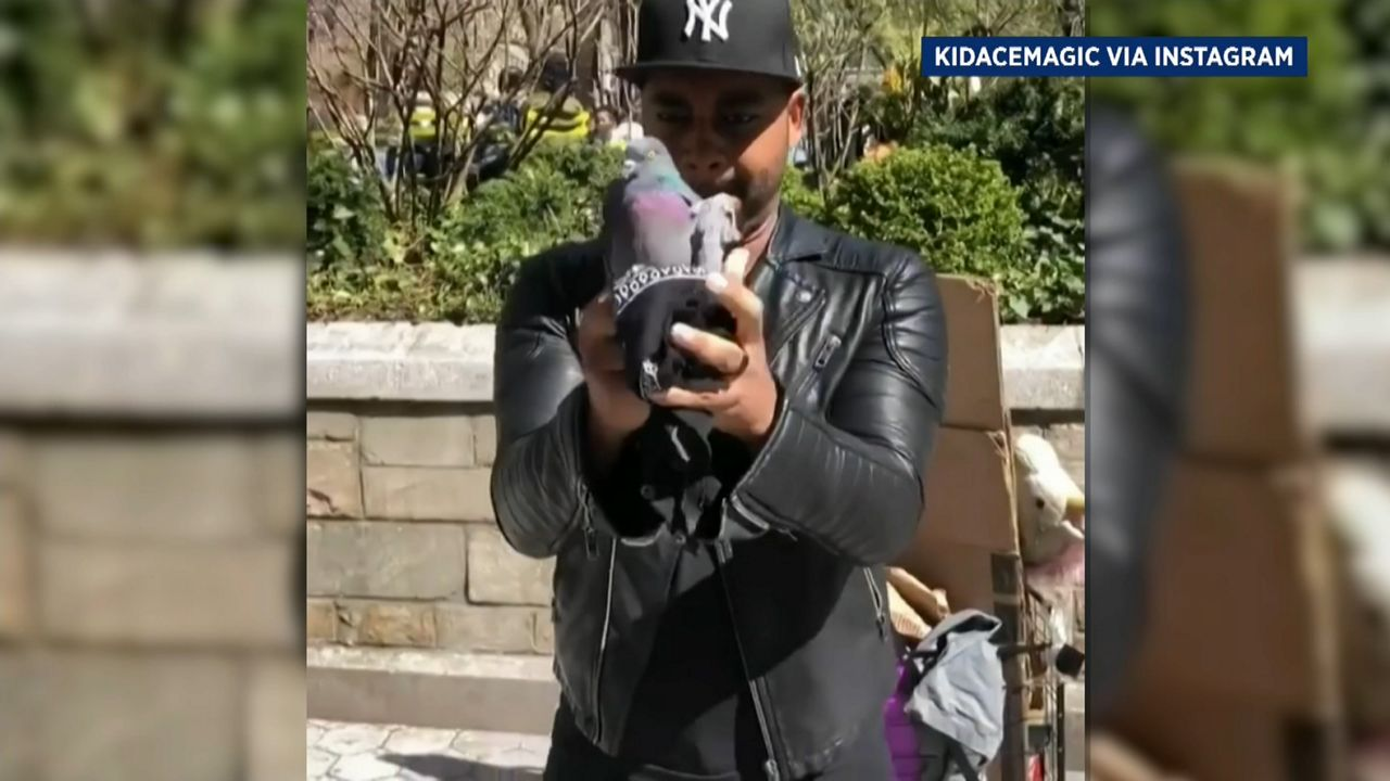 Harlem Native and illusionist Wows NYC streets