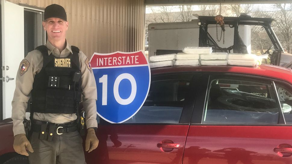 Million dollars in cocaine seized in Fayette County traffic stop