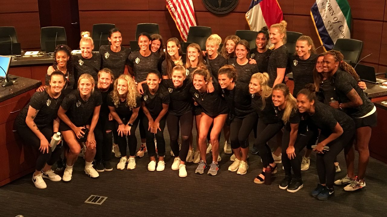 Cary Names July 2019 NC Courage Month