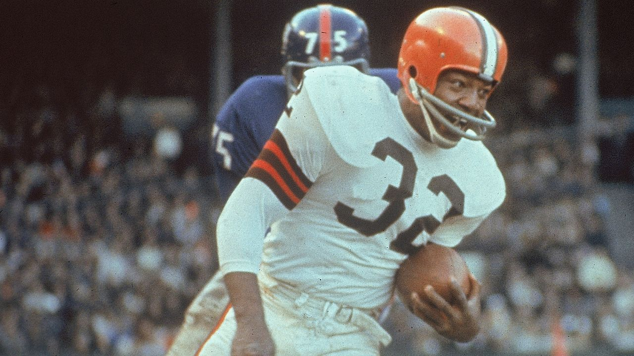 Jim Brown Football >> Espn Ranks Jim Brown Greatest College Football Player
