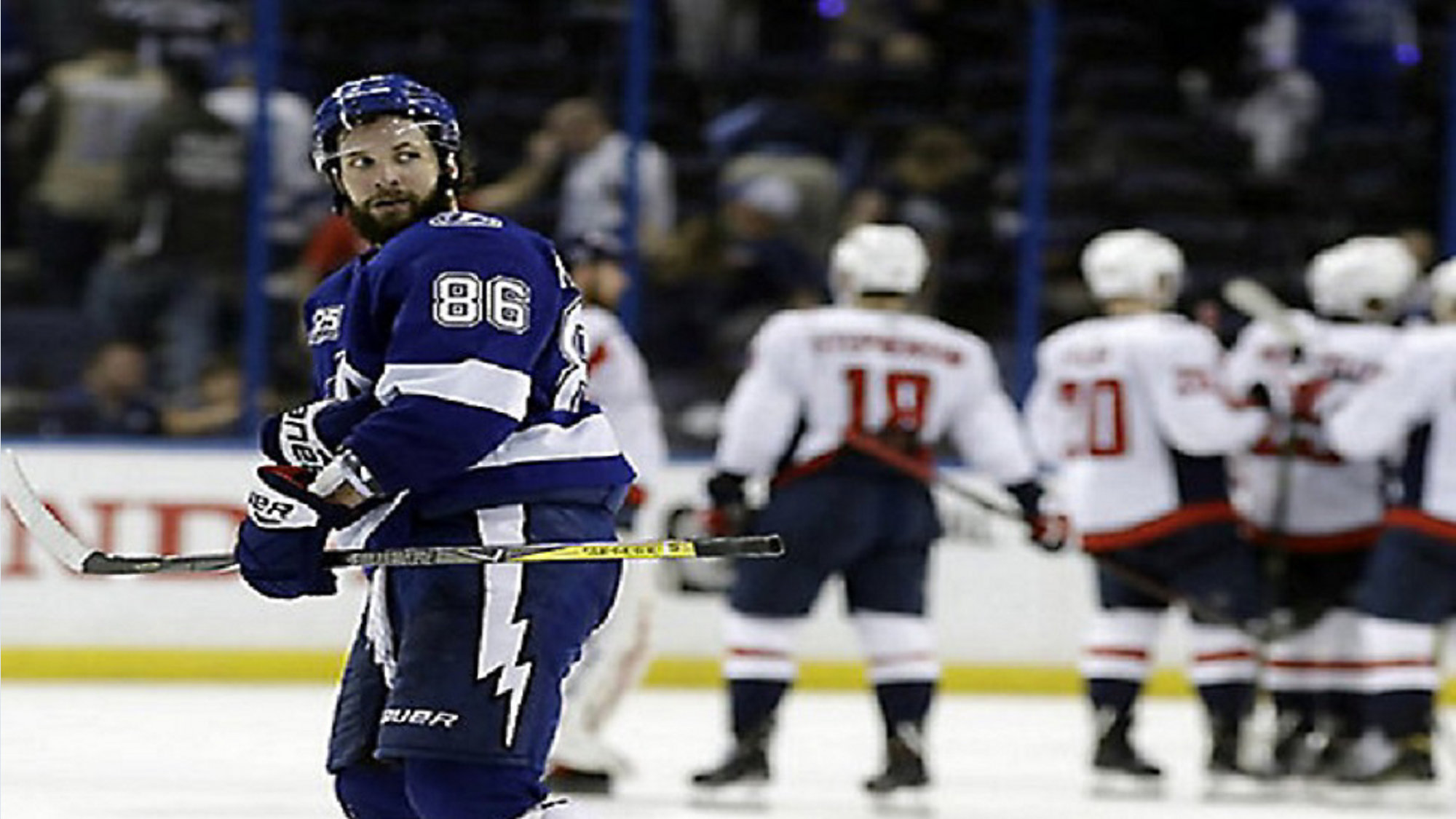 9abe25a35de Tampa Bay Lightning right wing Nikita Kucherov (86) and teammates are  trying to advance to the Stanley Cup finals. (AP Photo Chris O Meara)