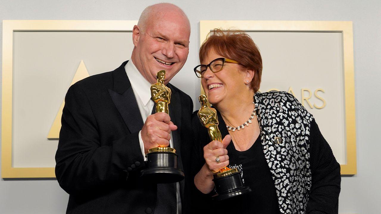 Mank' production designer wins Oscar