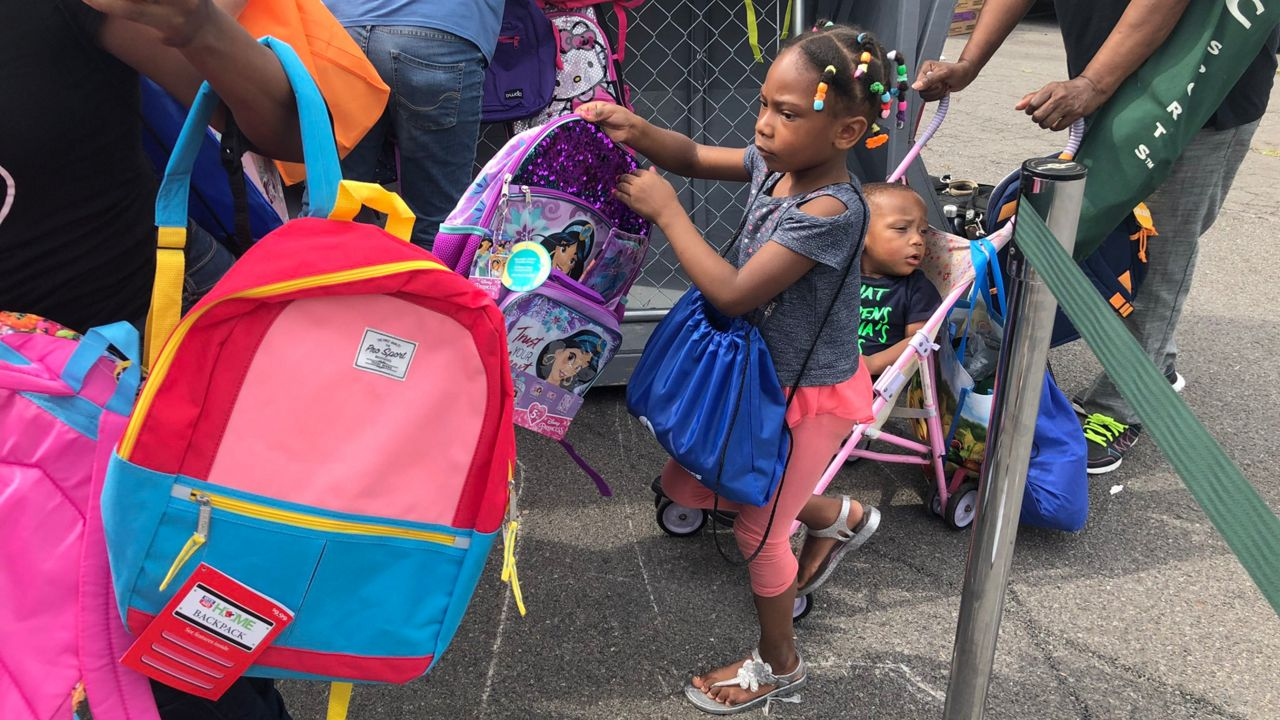 Mary Nelson Gives Students Free School Supplies