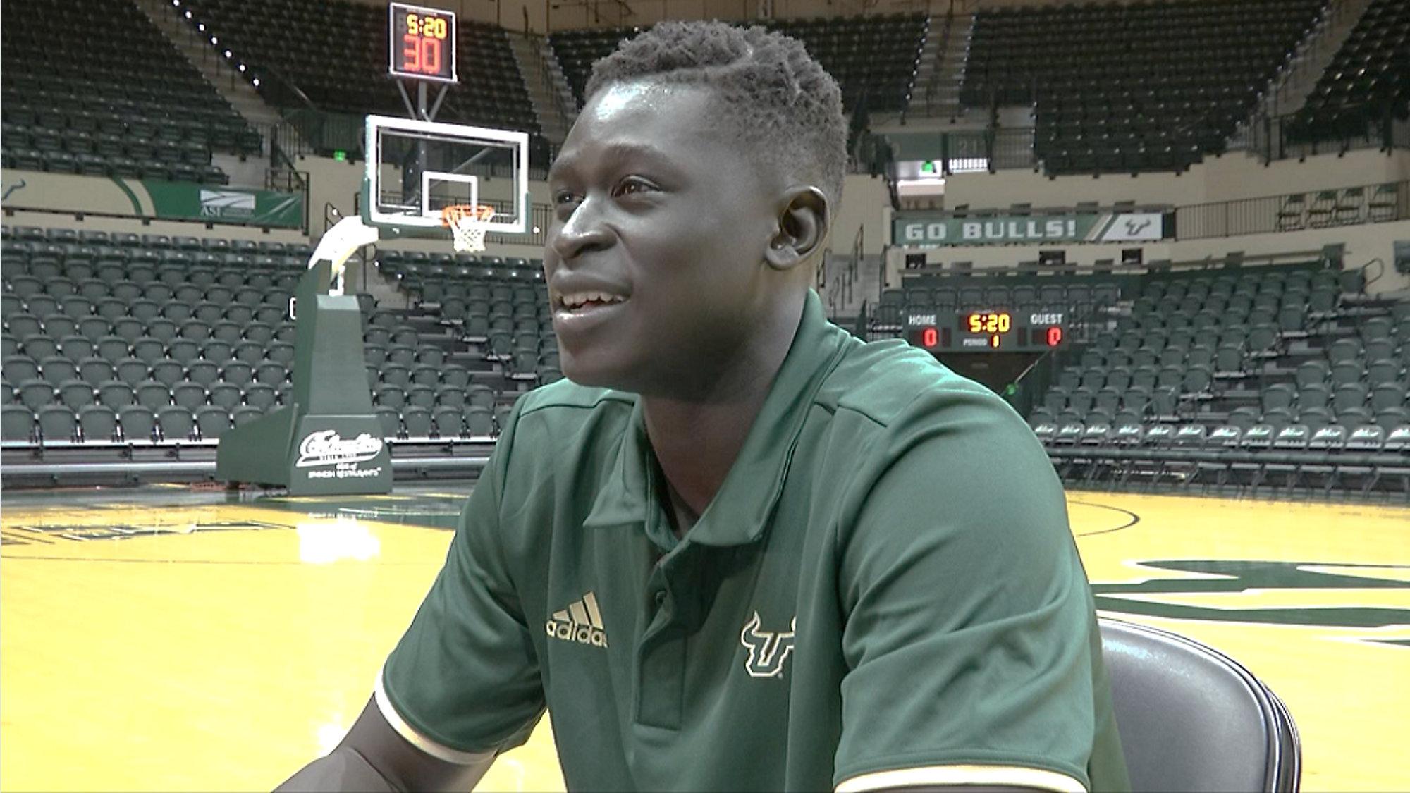 USF's Mayan Kiir living dream of playing college basketball