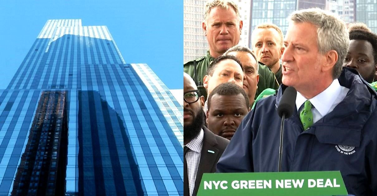 Mayor: NYC Skyscrapers Must Go Green or Face Fines