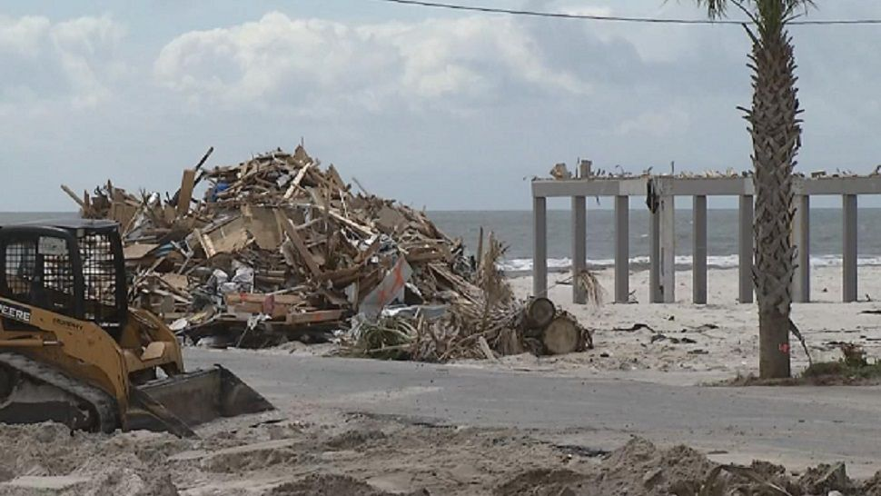 Concrete Slabs And Debris: Mexico Beach, 6 Months Later