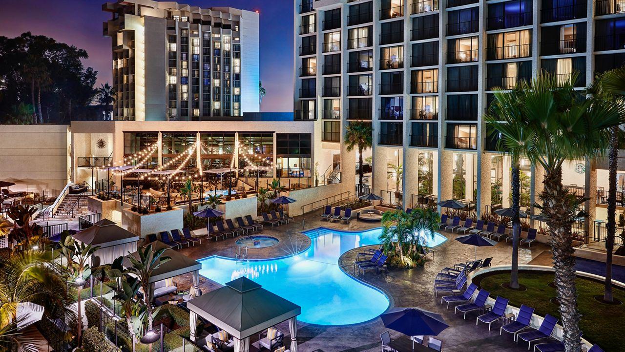 Newport Beach Marriott & Spa. (Courtesy Eagle Four Partners)