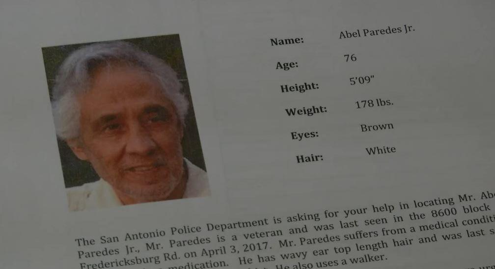 San Antonio Police, Community Search for Missing Veteran