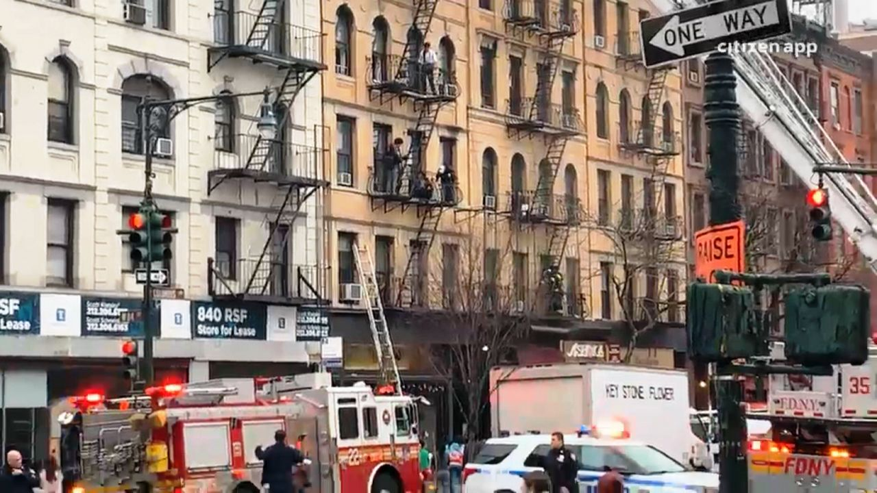 FDNY Crews Respond to Upper West Side Fire