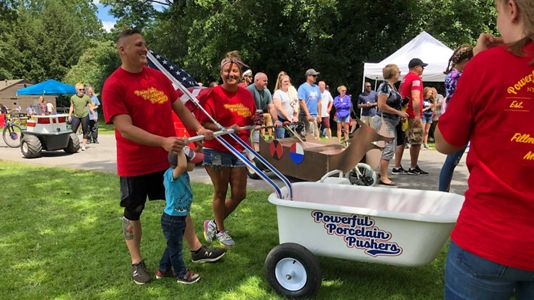 Bathtub races return to Moravia