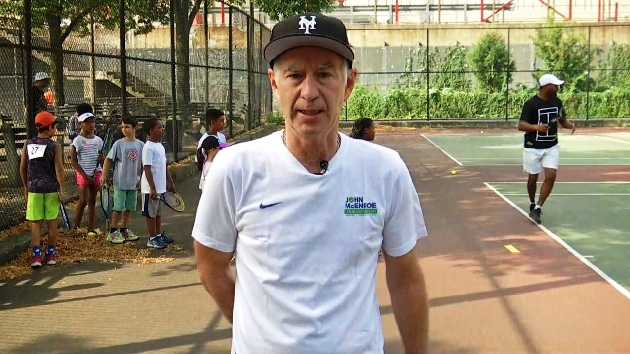 John McEnroe Youth Tennis Harlem Tryouts