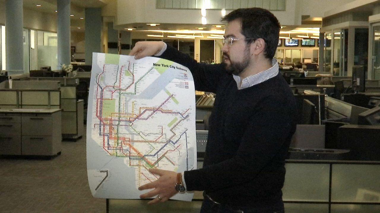 MTA abandona demanda contra un mapa alternativo del 'subway'