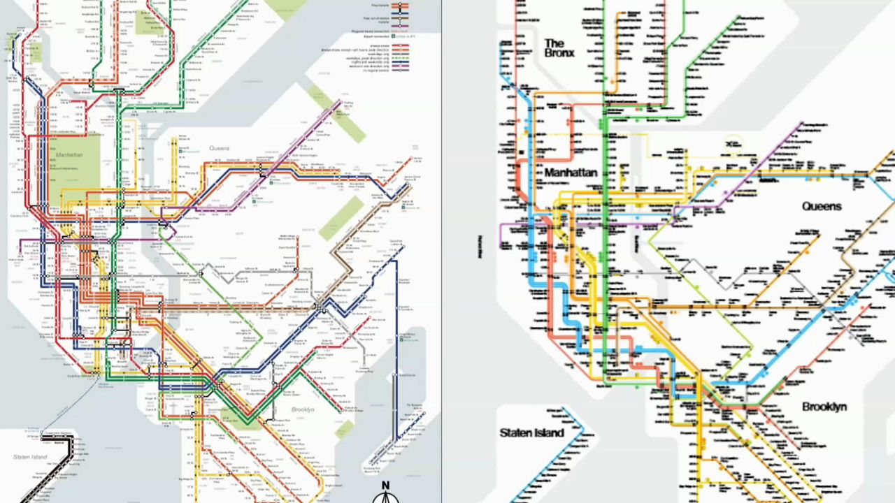 mta brooklyn train map Man Who Created His Own Subway Map Has Dispute With Mta mta brooklyn train map