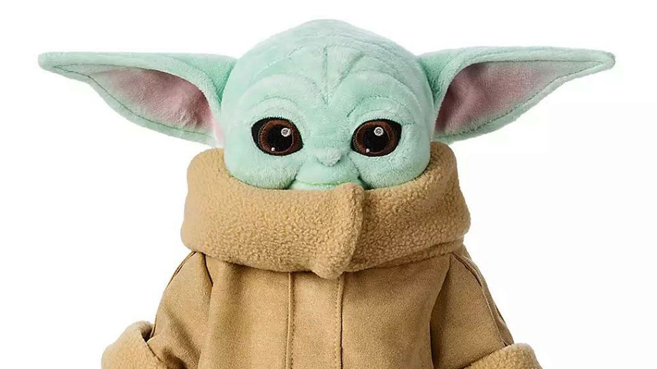 Disney Unveils Official Baby Yoda Plush Toy