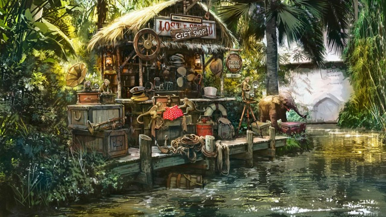 Disney releases concept art for new Jungle Cruise scene