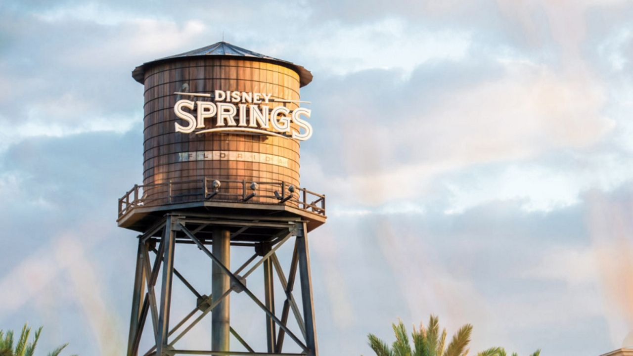 Disney Springs at Walt Disney World Resort will begin a phased reopening on May 20. (Courtesy of Disney)