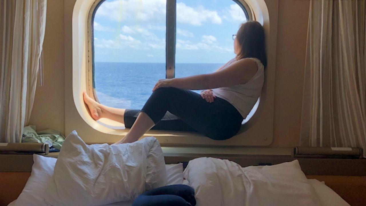Cruise Passenger Recounts Experience Aboard Holland America Zaandam