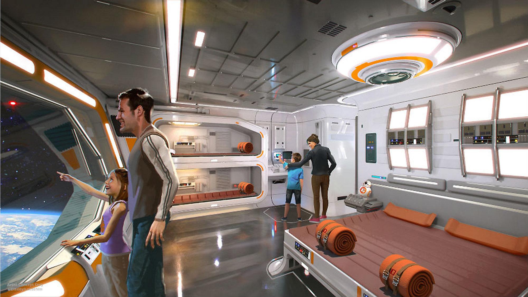 Image result for star wars hotel concept art