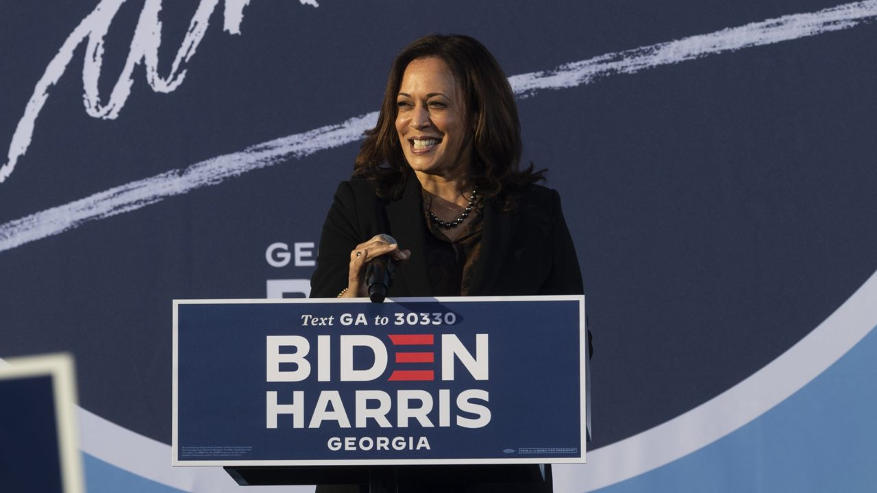 Harris Courts Atlanta Voters As Presidential Polls Tighten
