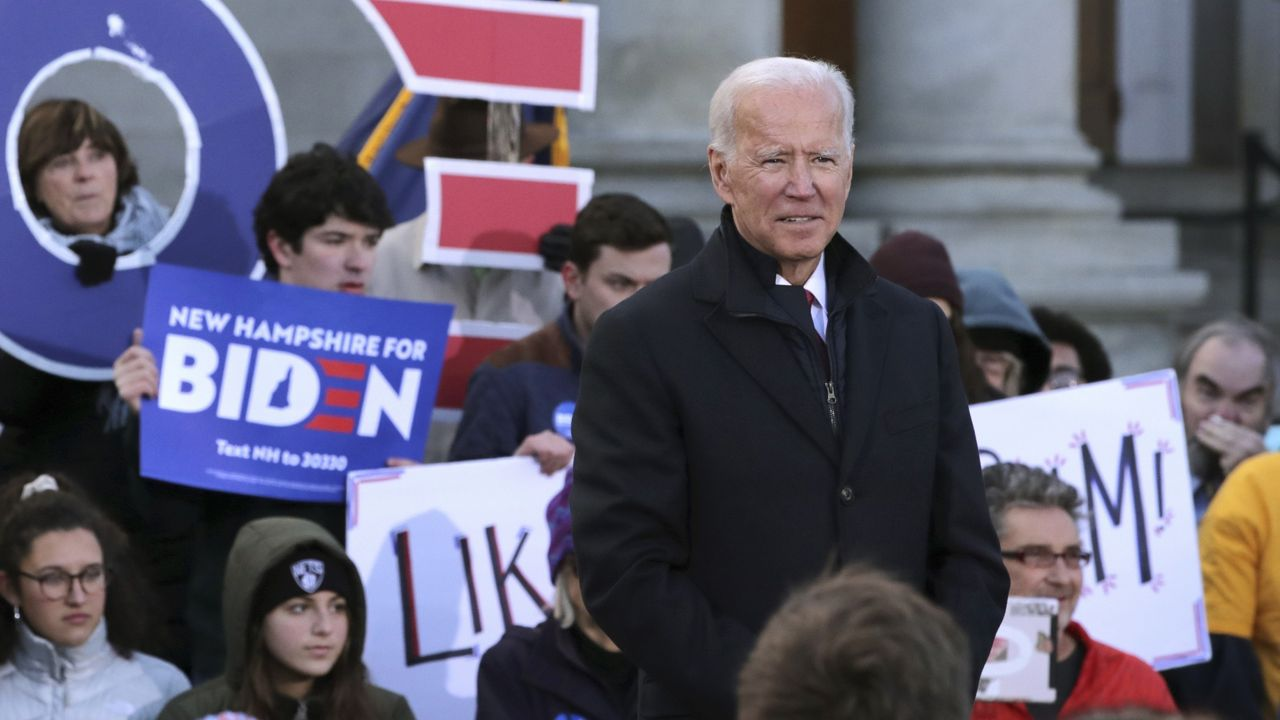 Conservative NH Newspaper Supports Biden