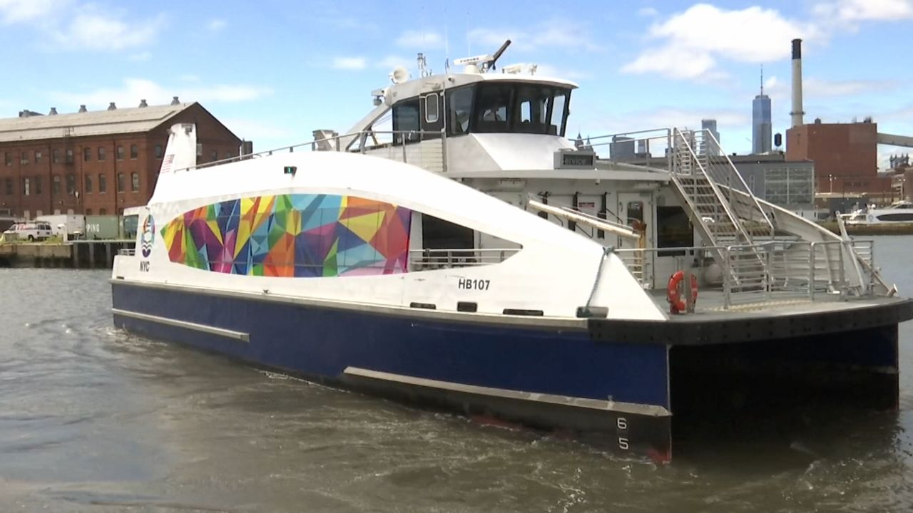 Ride with Pride on This NYC Ferry for the Rest of the Month