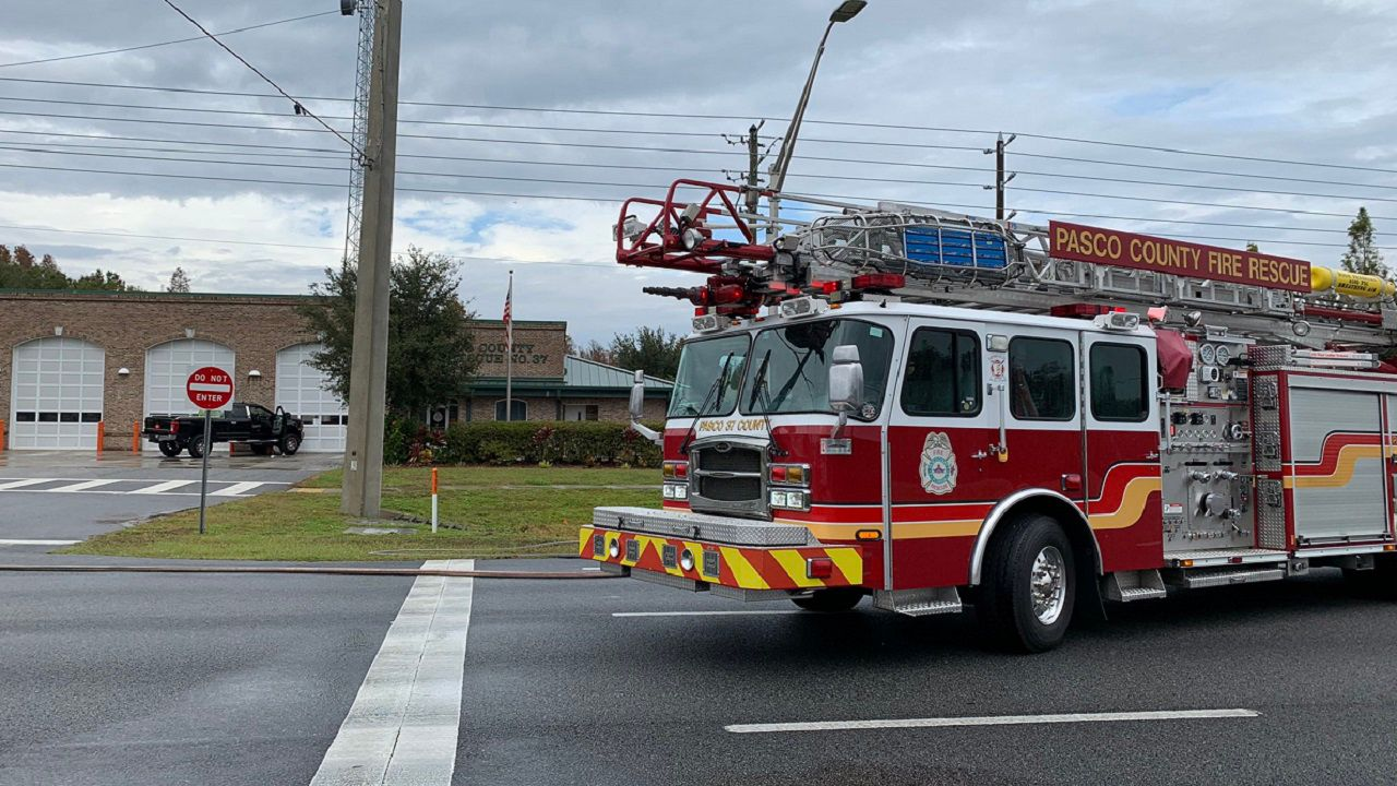 Authorities: Pick-Up Crashes Into Gas Main, Fire Station In Land O' Lakes