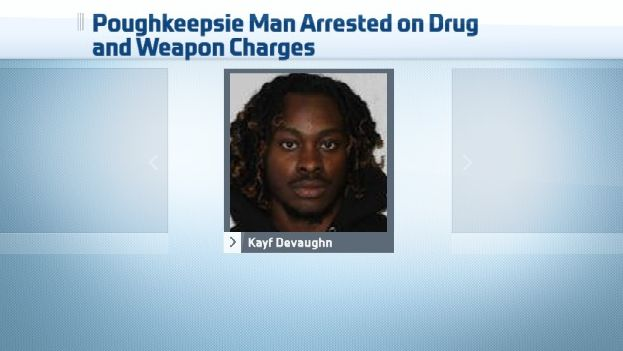 Poughkeepsie Man Facing Drug, Weapon Charges After Traffic Stop