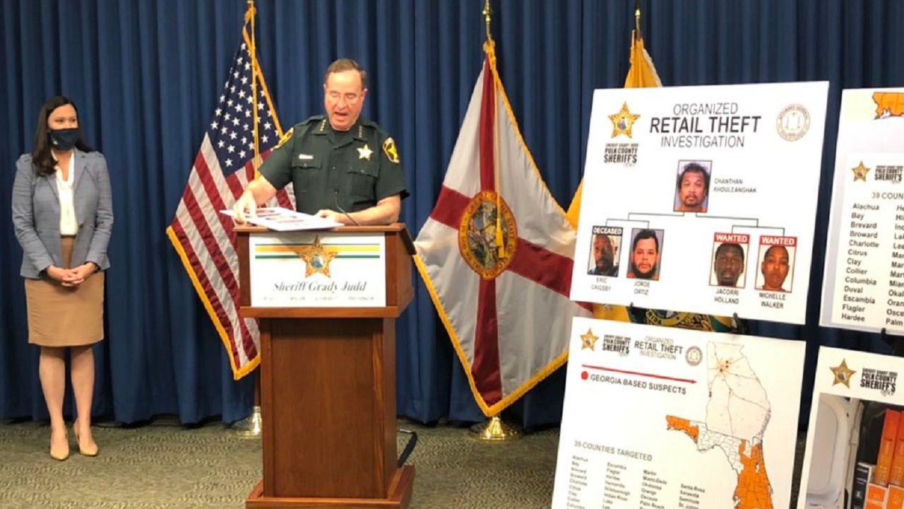 Polk Authorities Put The Brakes On 3 5 Million Theft Ring