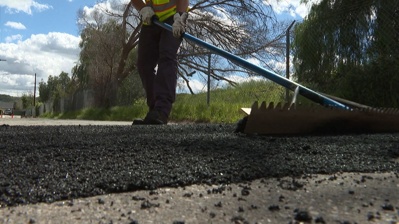 Pothole Problems Popping Up Across Southern California
