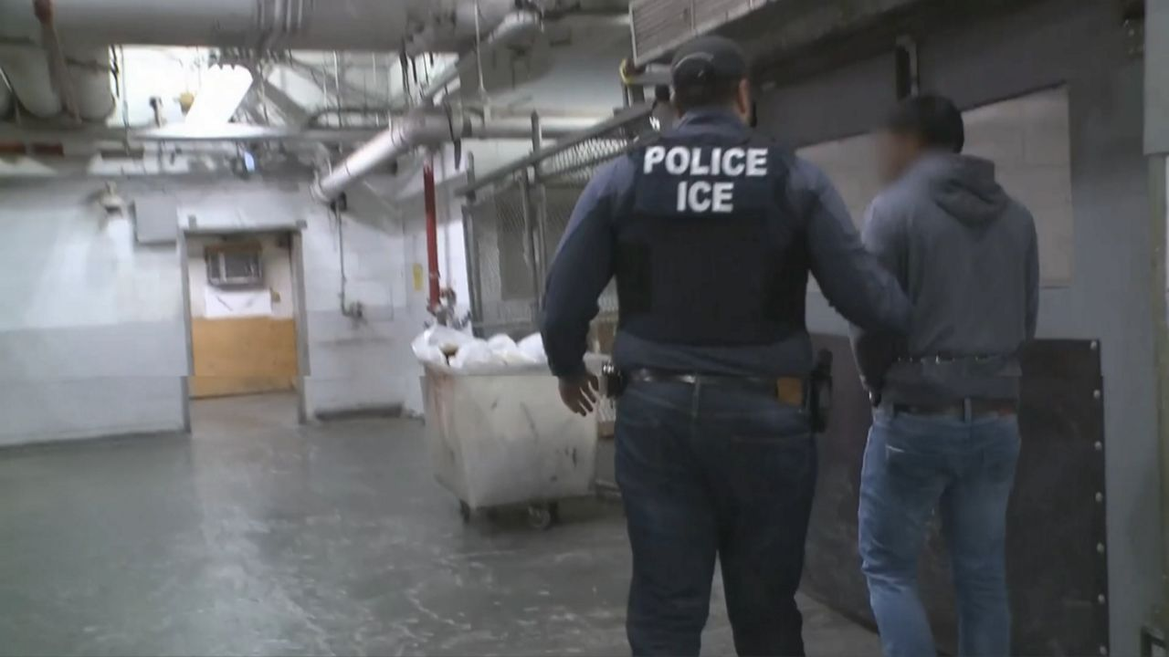 ICE Halts Some Raids; National Guard Setting Up Drive-Thru Test Site
