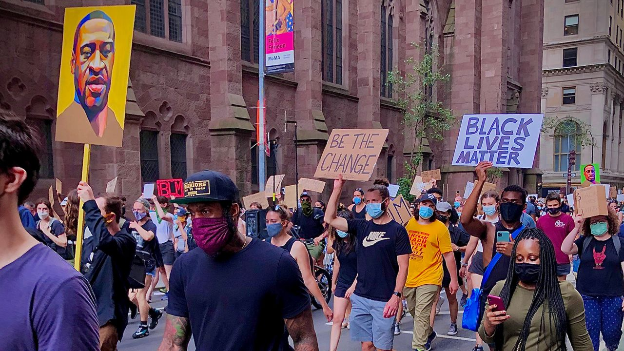 NYC George Floyd Protests Continue for 14th Straight Day