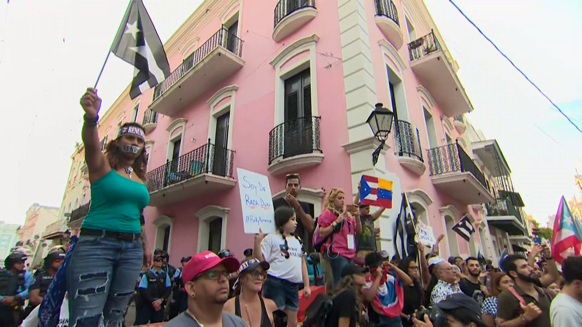 Puerto Rican Protests Continue As Governor Refuses To Resign