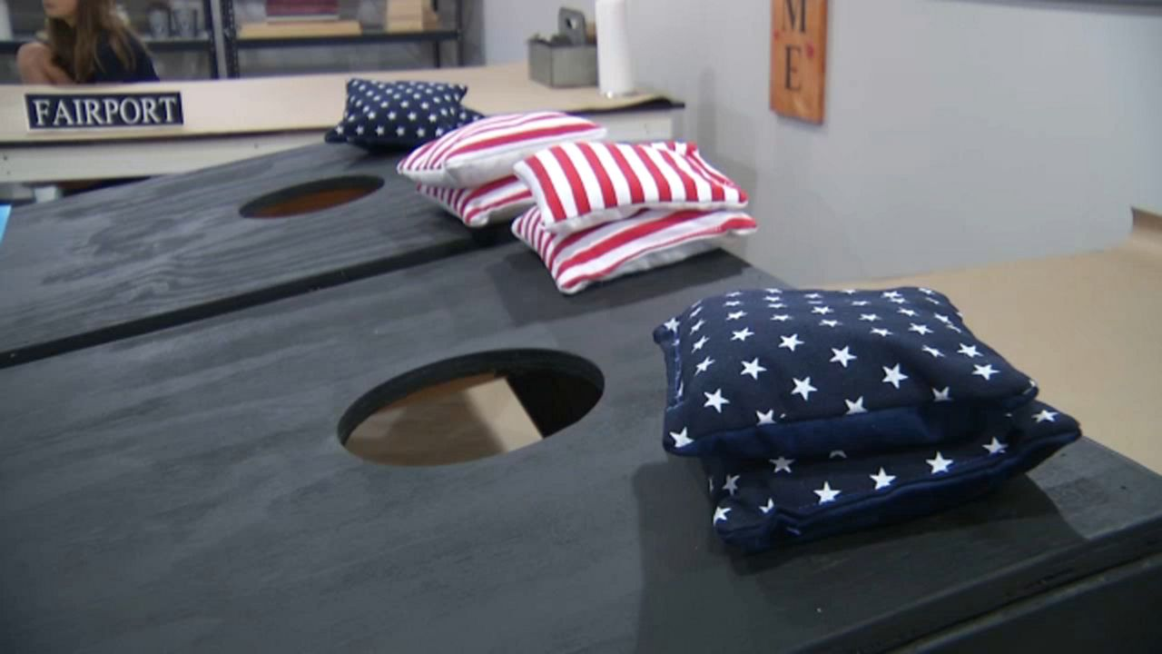 Design Your Own Cornhole at Hammer & Stain