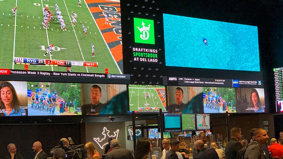 Sports betting off to a positive start at del Lago