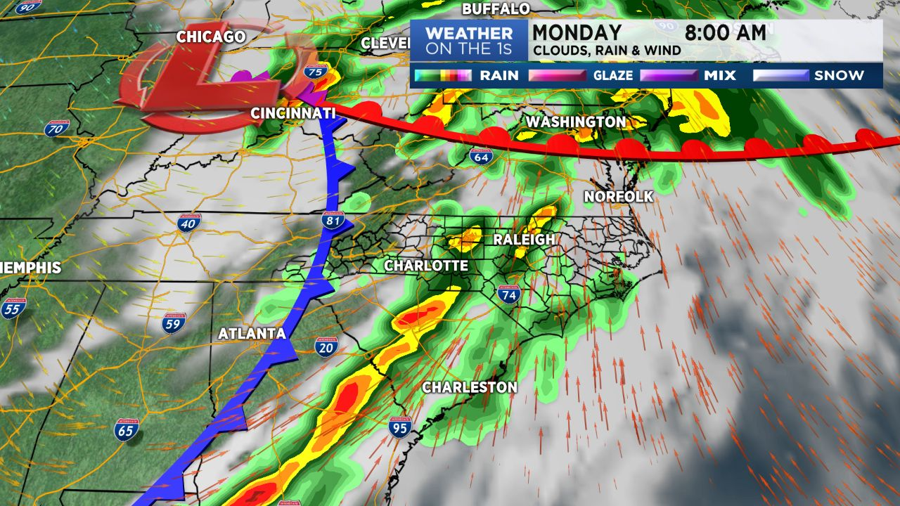 Severe Storms Possible Sunday Night Through Monday Afternoon