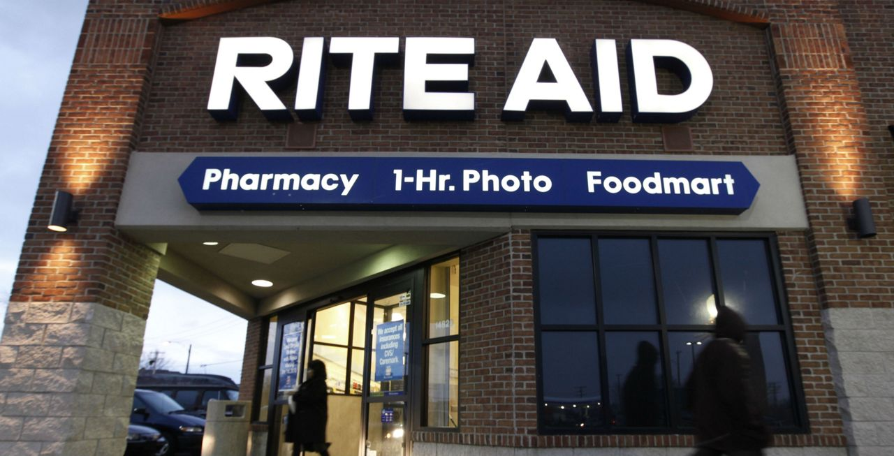 5120849878 FILE - In this Dec. 15, 2009 file photo, a customer enters a Rite Aid store  in Detroit. Rite Aid reports quarterly financial results on Thursday, June  19, ...