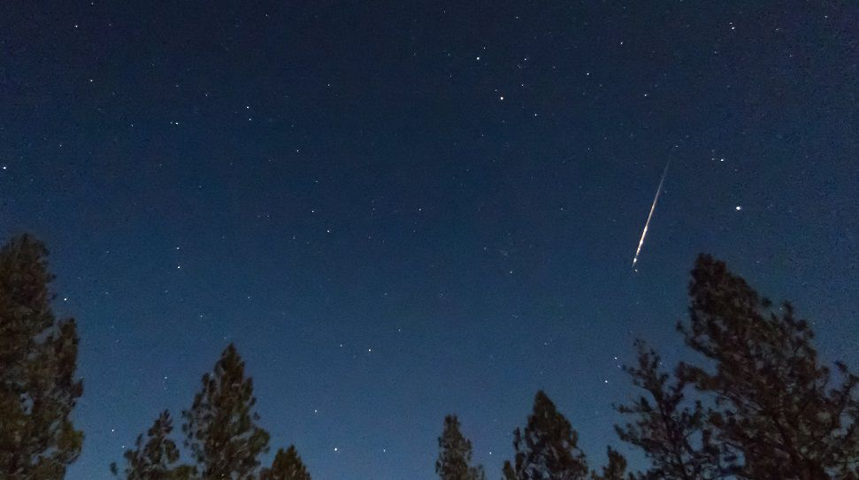 Orionid Meteor Shower Peaks Early Tuesday
