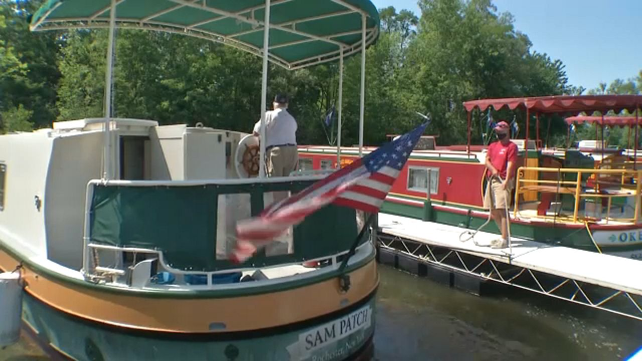 Sam Patch Canal Tour Boat Ready To Hit the Water
